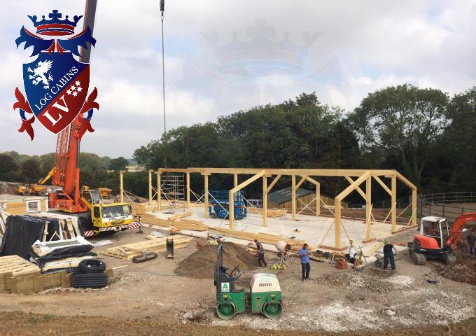 Timber Frame Stables 2015 12