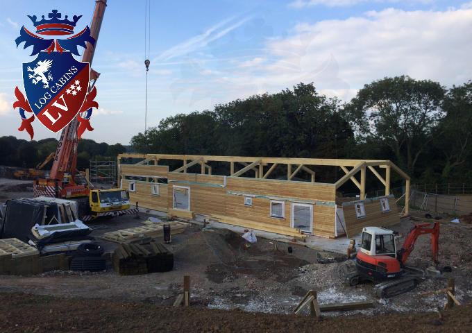 Timber Frame Stables 2015 13
