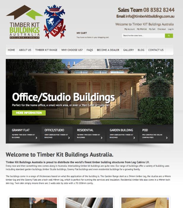 Timber Kit Buildings Australia