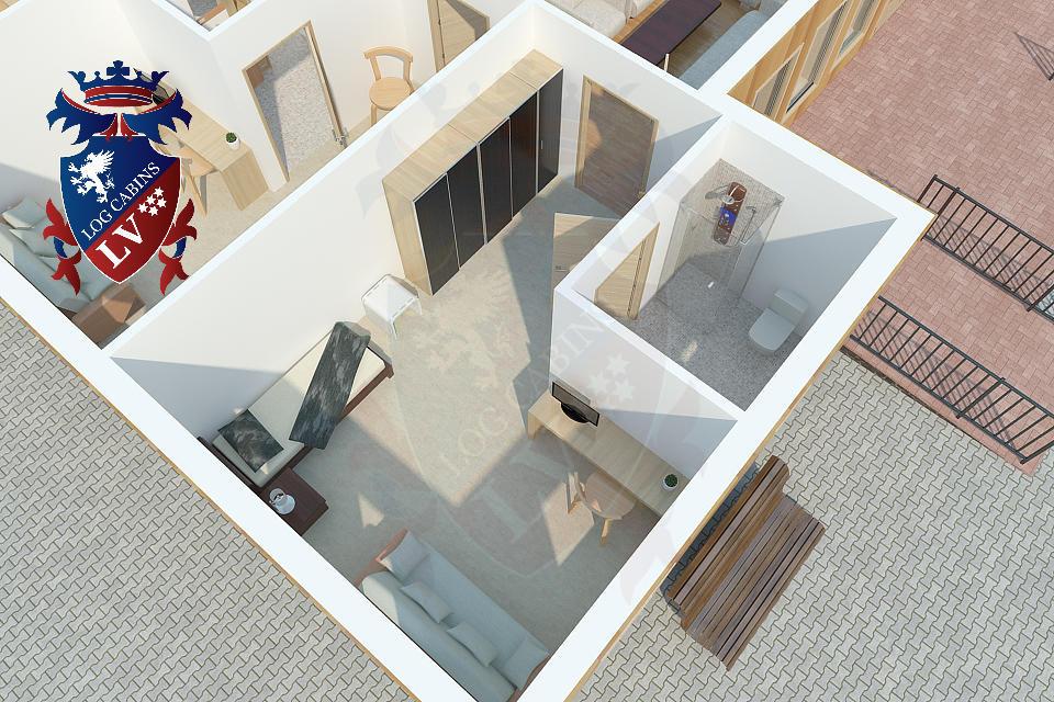 Timber frame Retirement Home   100