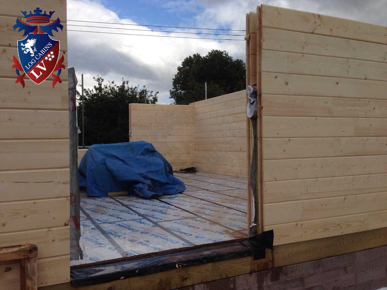 Twin Skin Log Cabins 629