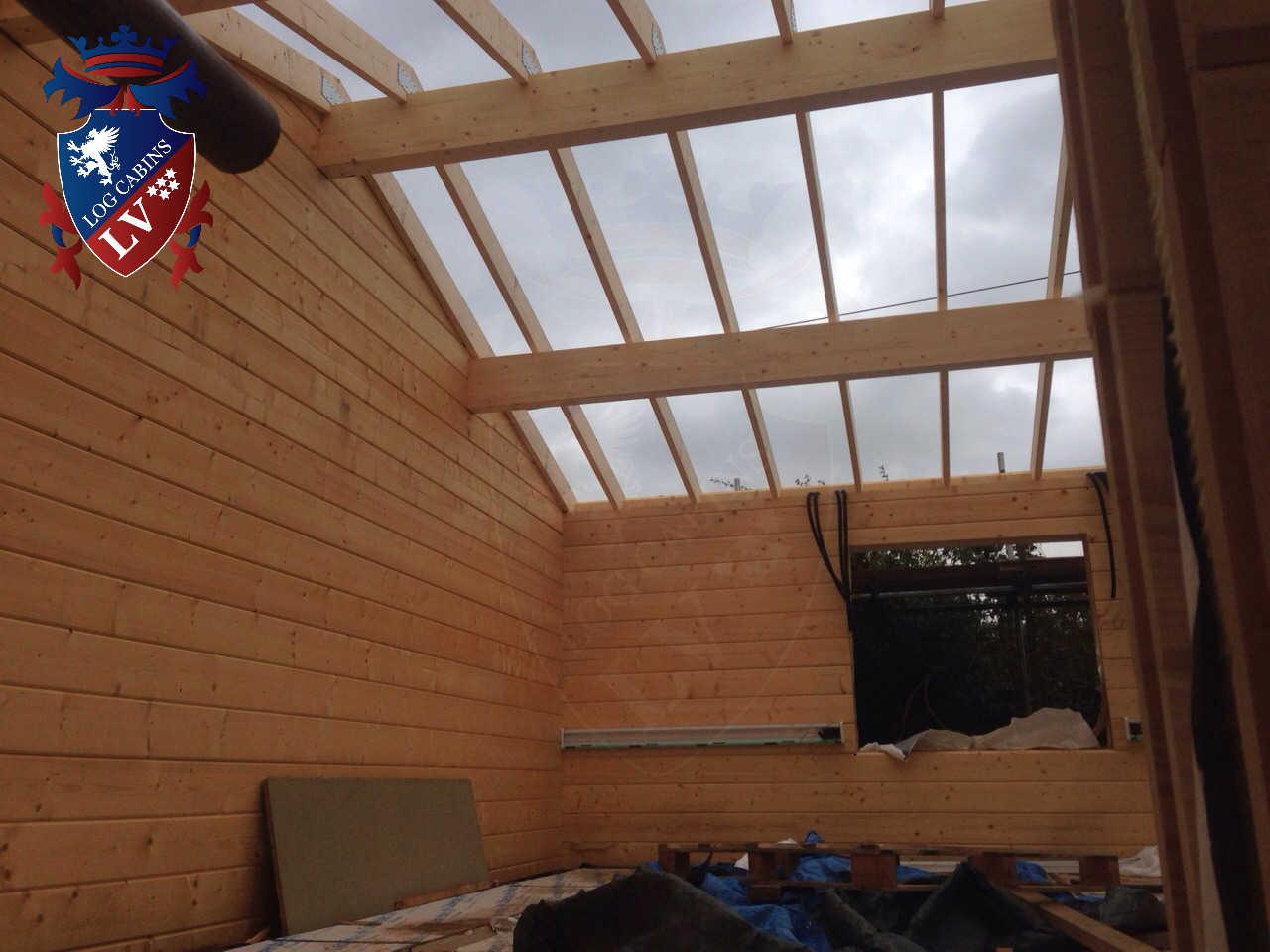 Twin Skin Log Cabins 663
