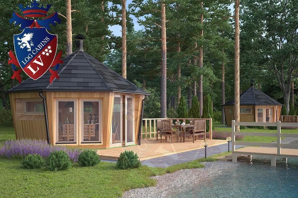 bbq lodges-bbq huts-bbq cabins