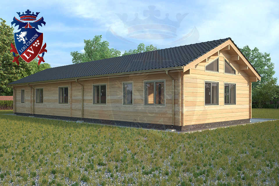 glulam residential twin skin log cabins 27