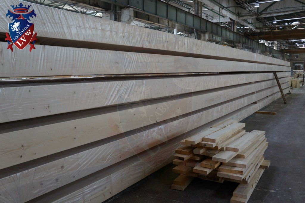 laminated Larch Logs 29