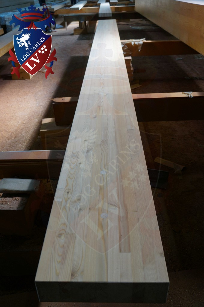 laminated Larch Logs 34