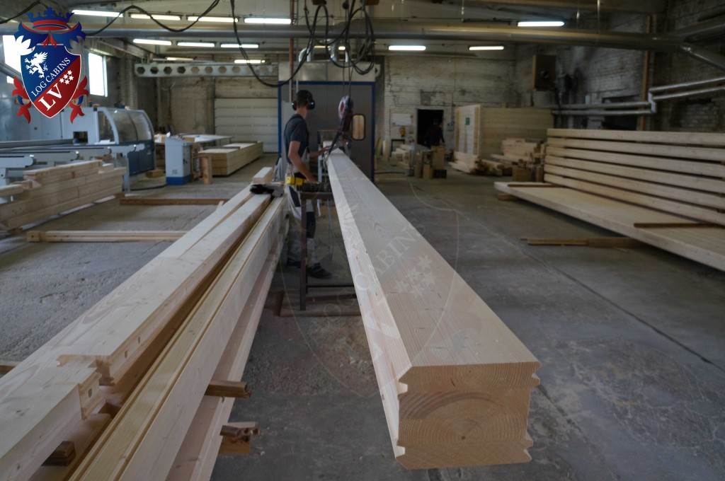 laminated Larch Logs 54