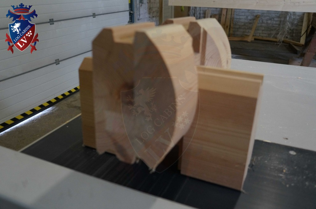 laminated Larch Logs 59