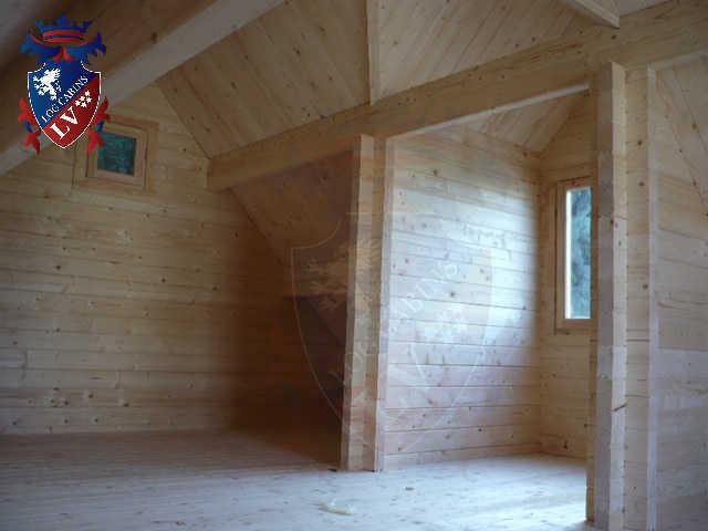 log cabins LV  129