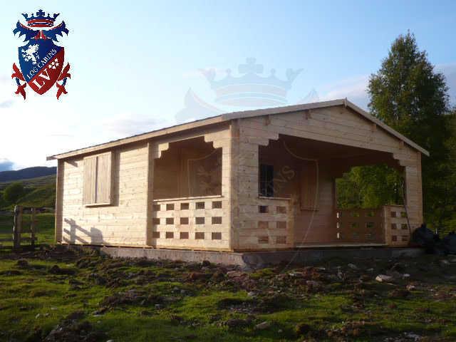 log cabins LV  404