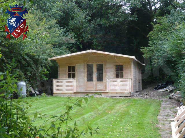 log cabins LV  804