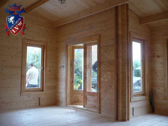 log cabins LV  854
