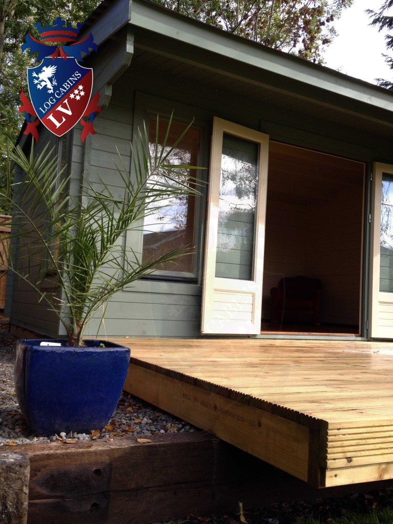 log cabins df range 20