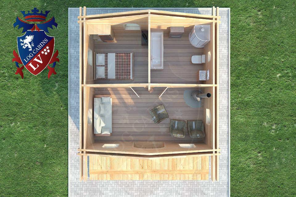 log cabins lv  34