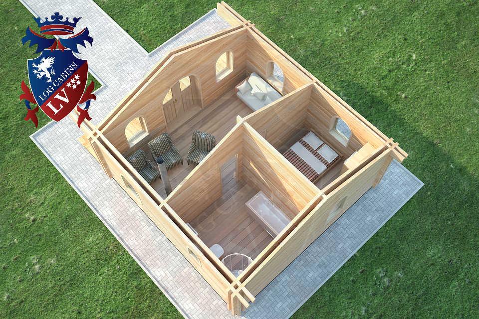 log cabins lv  45