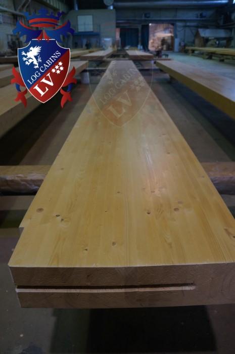 log cabins lv - glulam timber  2015  2