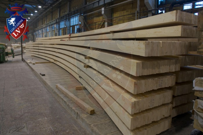 log cabins lv - glulam timber  2015  3