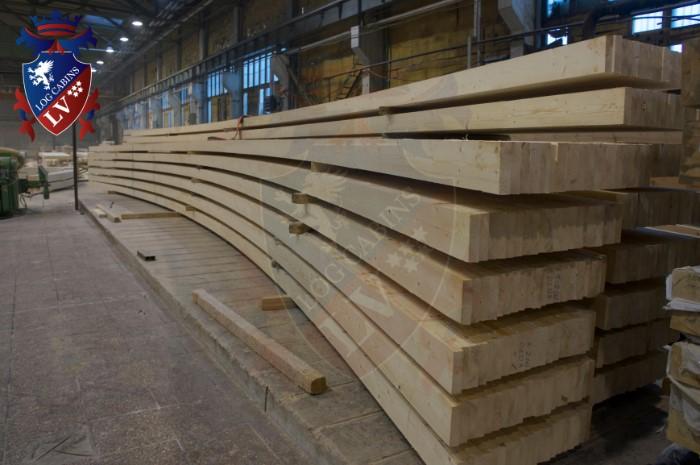 log cabins lv - glulam timber  2015  3
