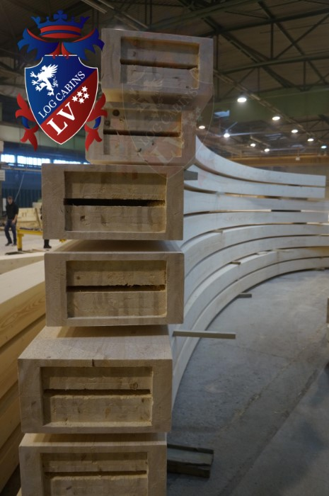 log cabins lv - glulam timber  2015  5