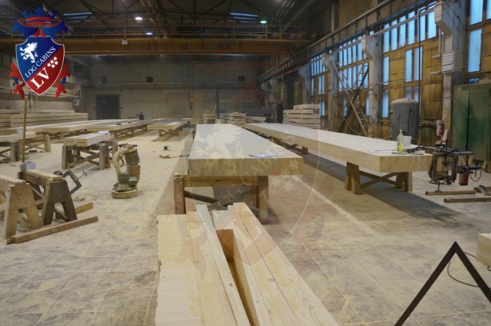 log cabins lv - glulam timber  2015  8