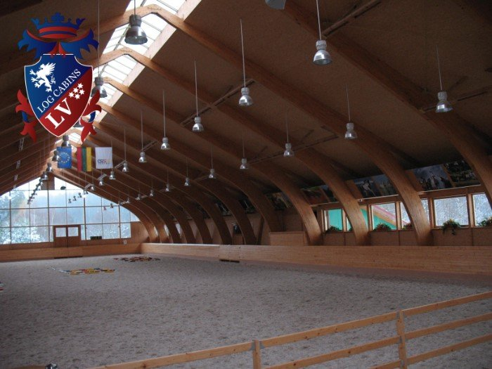 logcabinslv Equestrian Centre Design- Riding Arena 0
