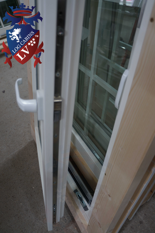 precision windows and doors log cabins  10006