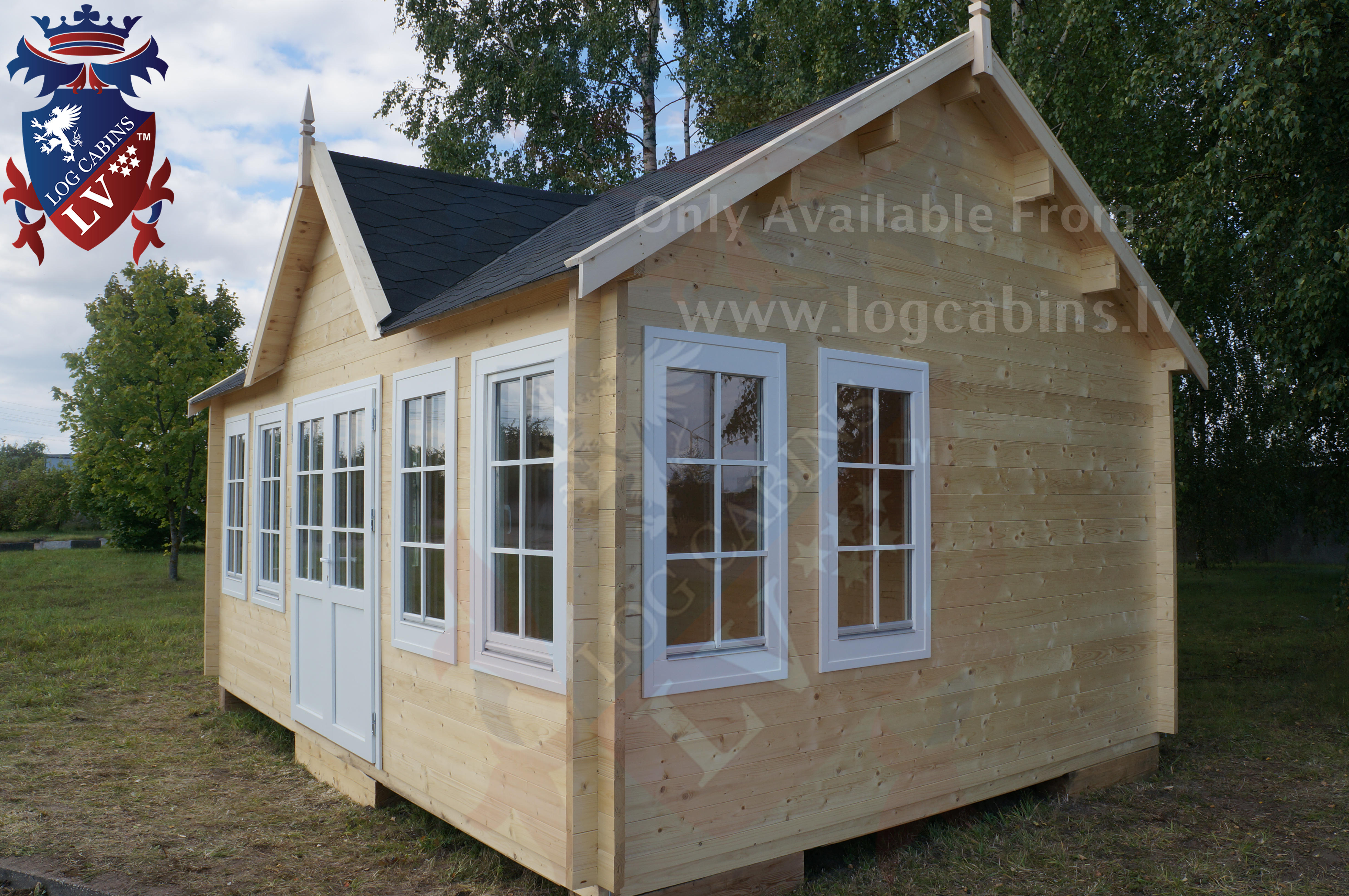 residential windows and doors with all 44mm log cabins and above.