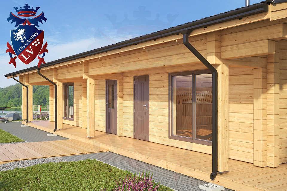 sauna logcabins