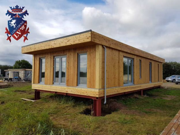 Timber Framed Building : Timber frame insulated micro homes archives log cabins