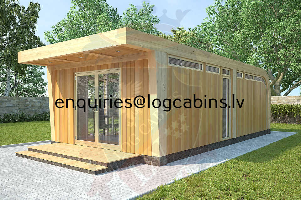 timber frame buildings and Log Cabins LV 2