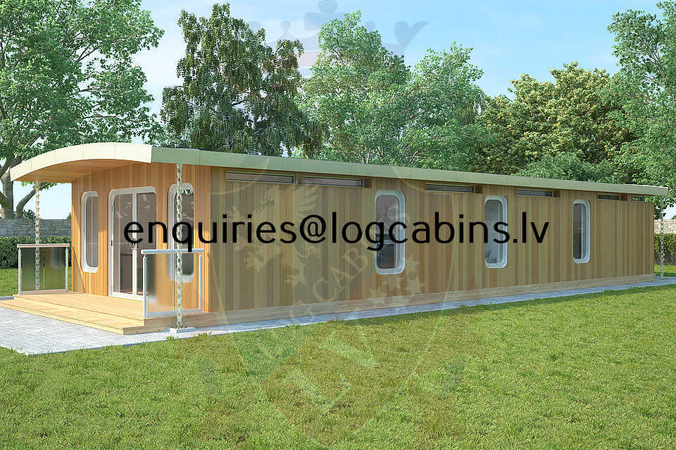 timber frame buildings and Log Cabins LV 4