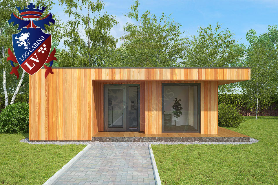 highly insulated garden offices