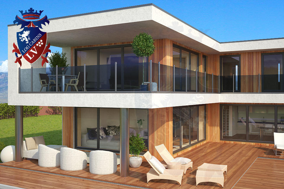 timber kit homes- passive housing- timber frame UK  2