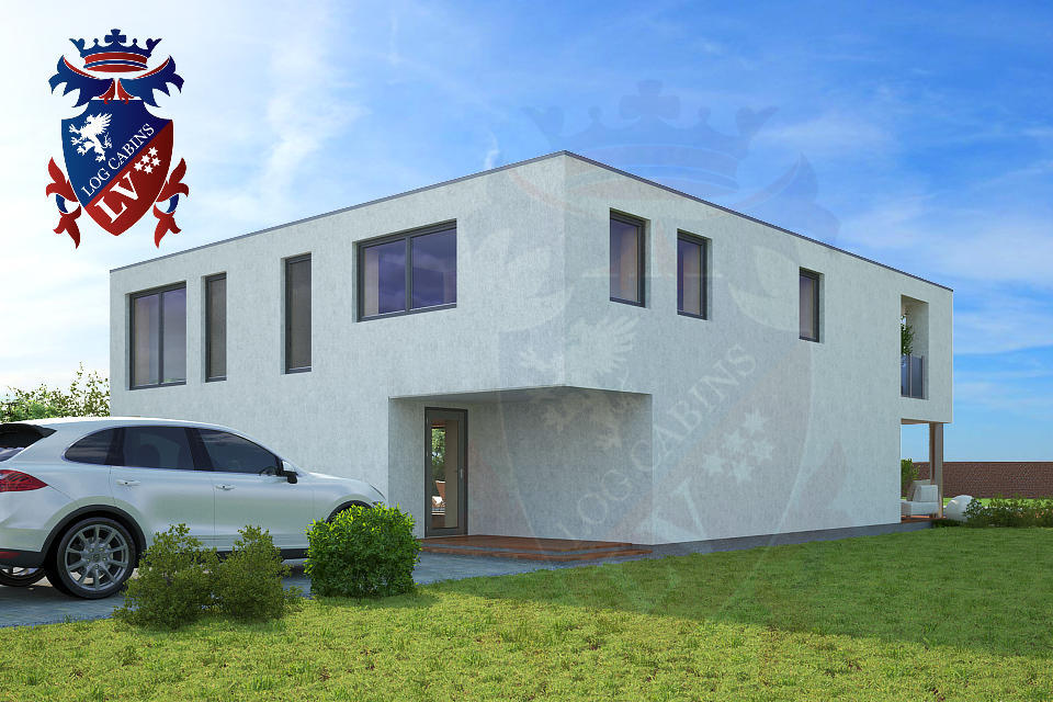 timber kit homes- passive housing- timber frame UK  3