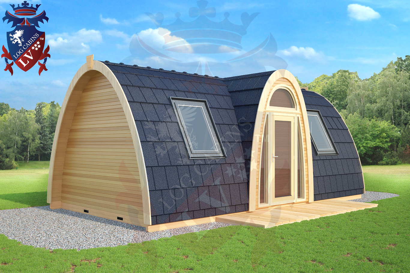 Www Campingpods Lv Log Cabins Lv Blog