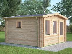 Studio Twin Skin Log Cabins