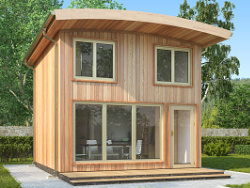 Timber Frame Micro Housing