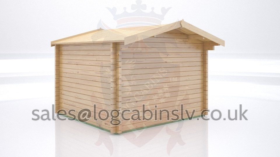 Totally Bespoke Log Cabin Graffham 3.0 m x 3.0 m tblclv1044