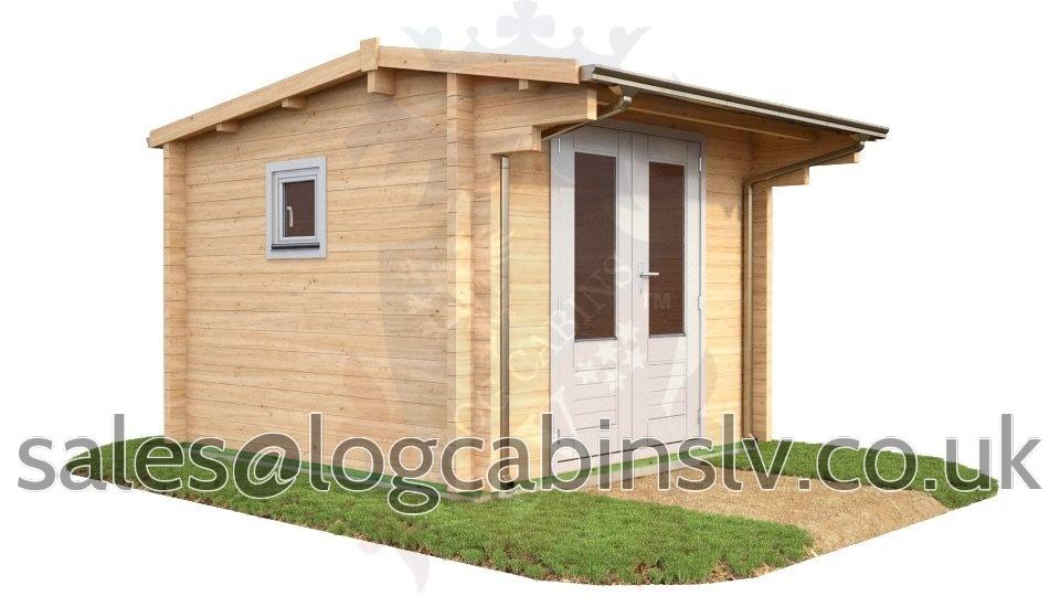 Deluxe Log Cabin Headcorn 3.0 m x 3.0 m dlclv4004