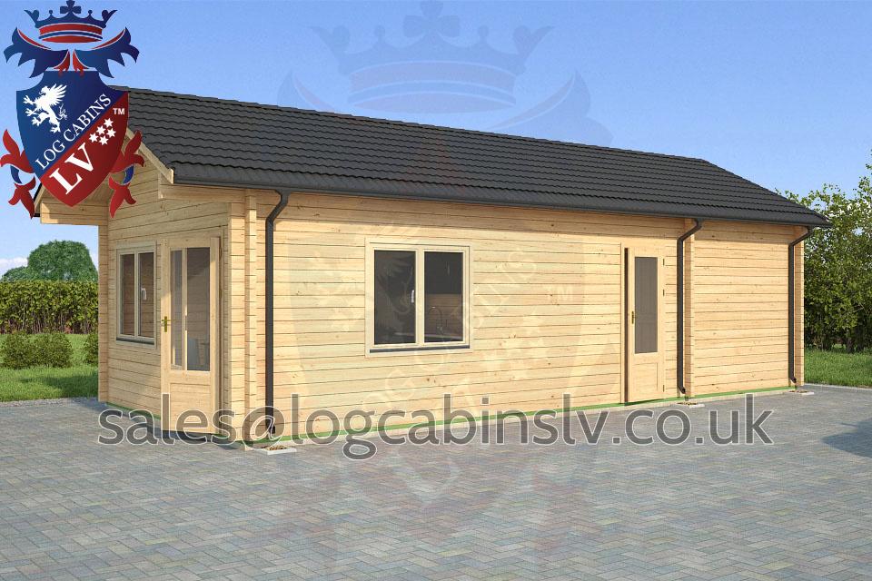 39 39 Residential Type Multi Room Log Cabins 39 39 Logcabins Lv