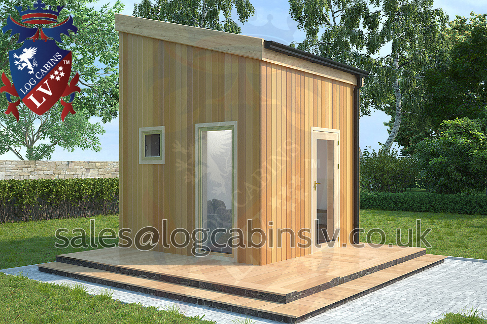 Timber Frame Microhouse Hillingdon 3.0 m x 3.0 m rtfblv2162
