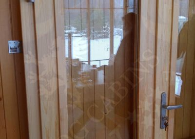Premium Log cabins Windows and Doors LV 031