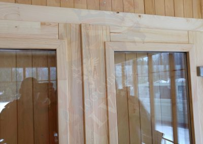 Premium Log cabins Windows and Doors LV 073