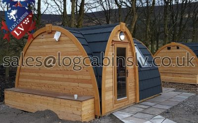 High Quality Camping Pods 4.8 m x 4.0 m