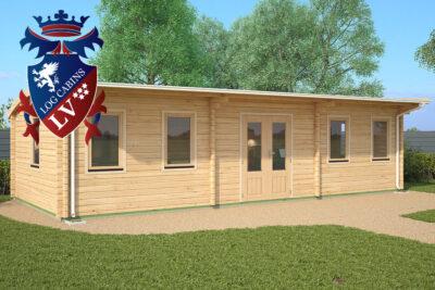 East Dean Log Cabin Ki Range 9.5m x 4.0m - 1641