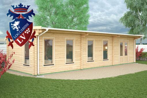 Hailsham Log Cabin Ki Range 10.5m x 3.5m-1646