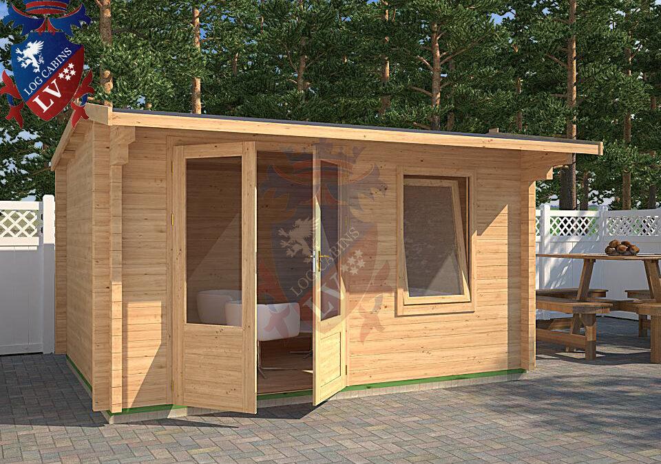 Log Cabin Hinxhill DF Range 4.0m x 3.0m – 13